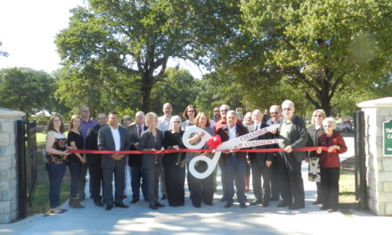 Cemetery improvements celebrated