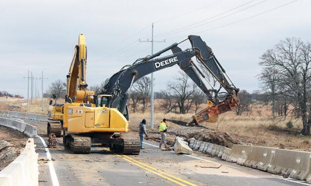 Heavy rains wreak havoc on county roadways