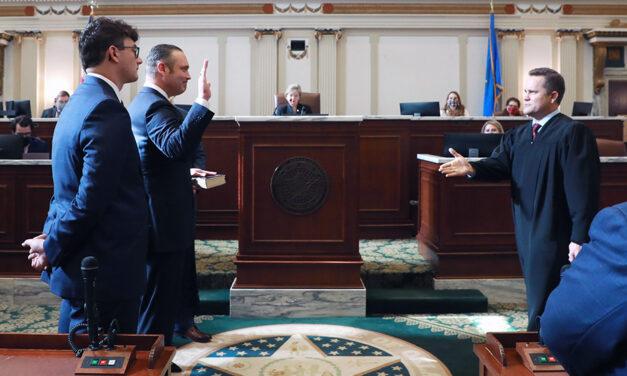McCall begins third term as House Speaker